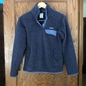 Patagonia snap neck pullover